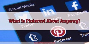 My Affiliate Resources blog post about Pinterest Affiliate Marketing