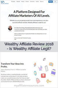 Wealthy Affiliate Review for 2018 - Is Wealthy Affiliate a Scam?