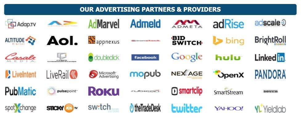 Kris Clicks advertising partners and providers